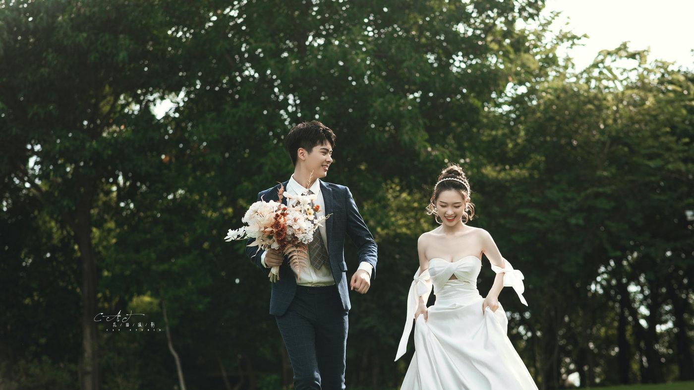 中山迪茵湖婚纱照3