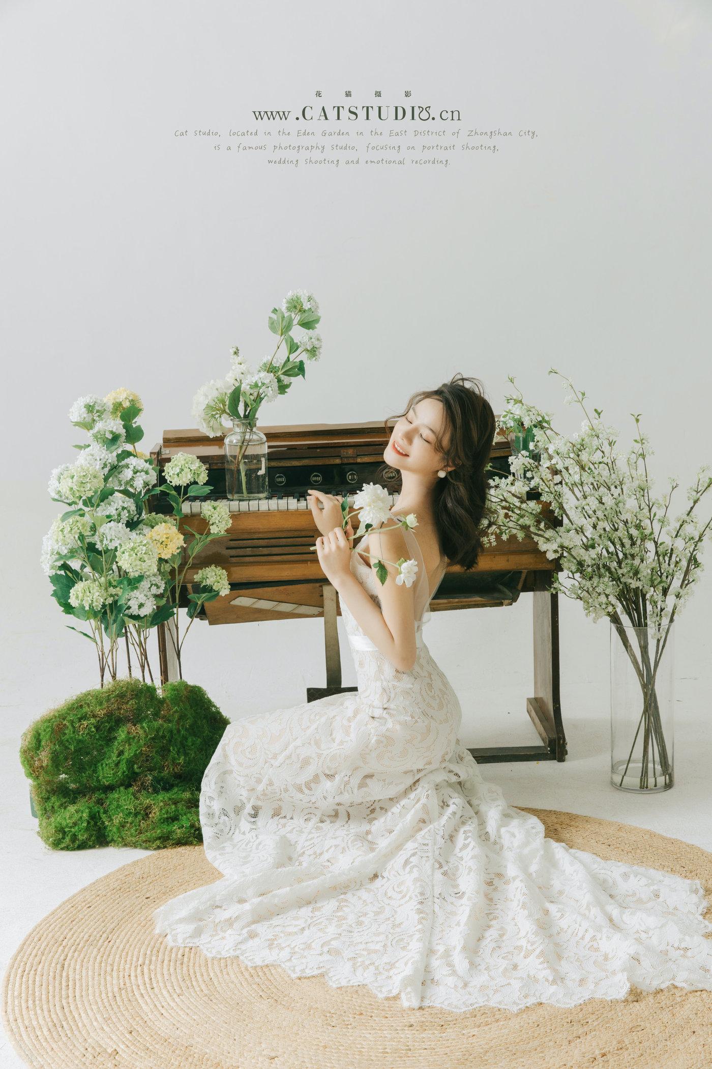 绿意盎然 l 婚纱照2