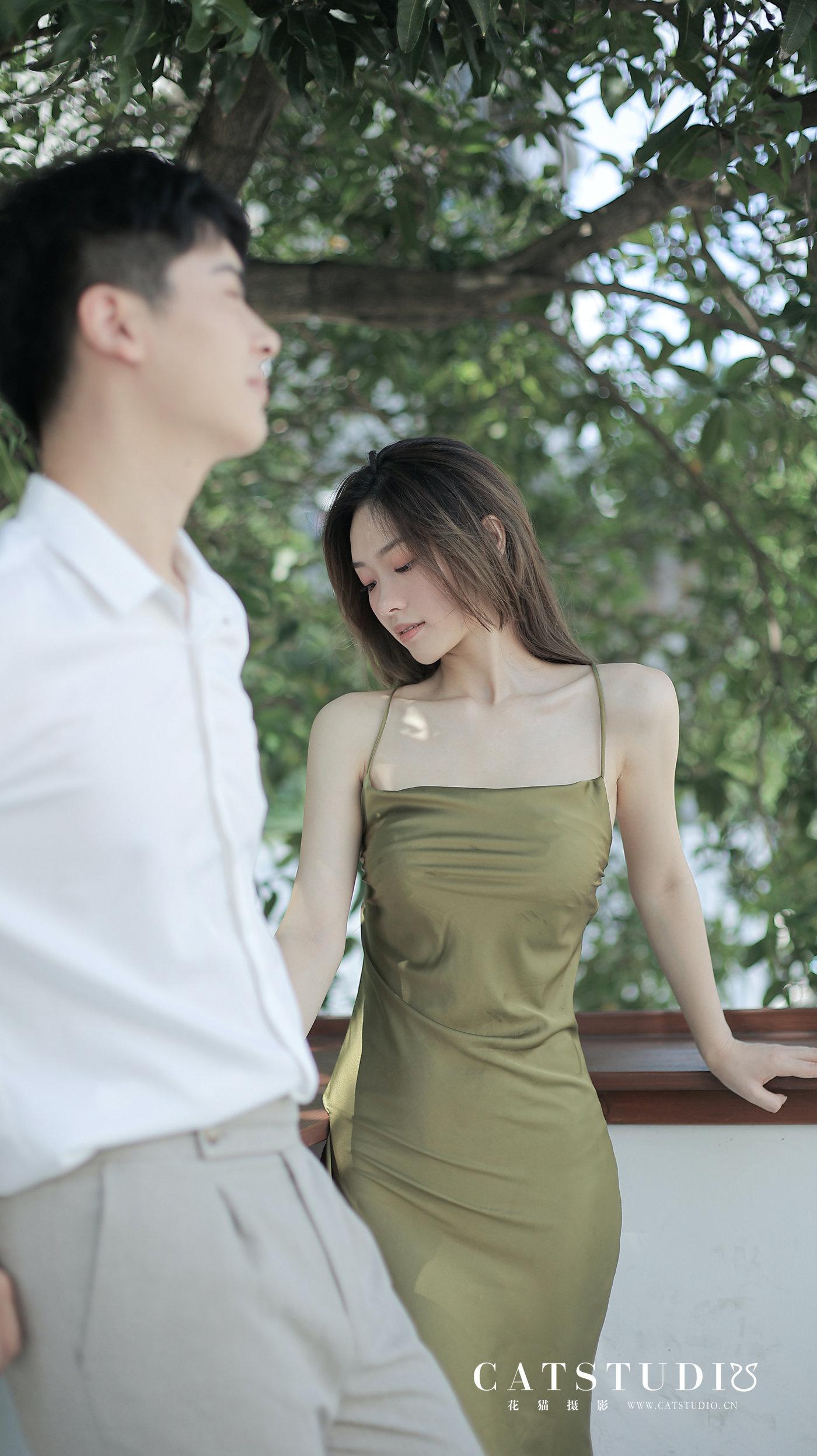 <婚纱照 l 有锁骨的女生好美>6